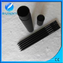 Eco-Friendly Black Wooden Hb Pencil