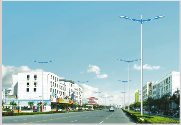 LED Characteristic street lamp lighting
