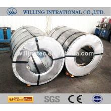 Farbverzinkte Stahlblechspule
