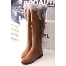 New Style of Fashion Lady Flat Boots (WZ-06)