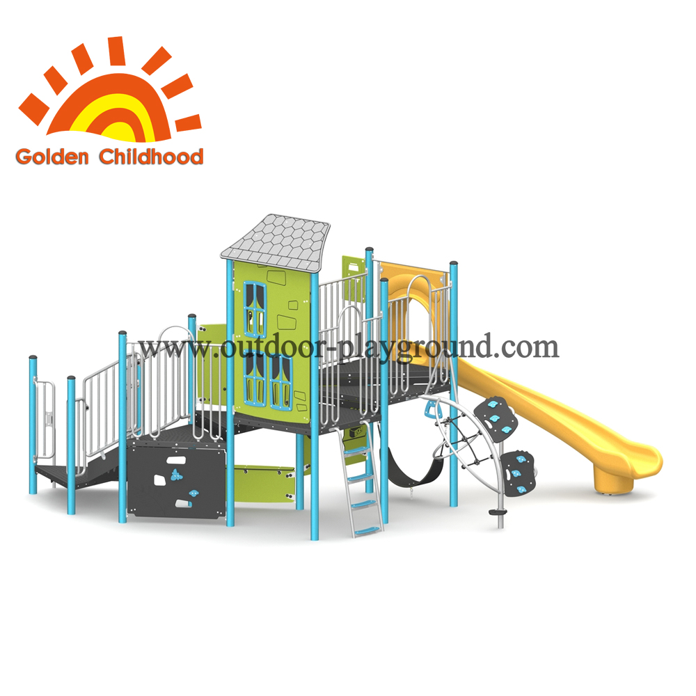 Zoo Amusement Outdoor Playground Equipment