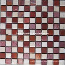 Natural Stone Mosaic Tile (HSM122)