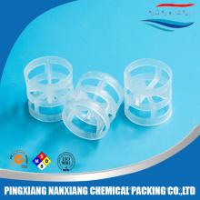PP CPVC PVDF Plastic Pall Ring for water treatment