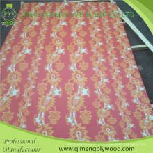 Middle East Market Papel Overlaid madeira compensada com 200 tipos de papel