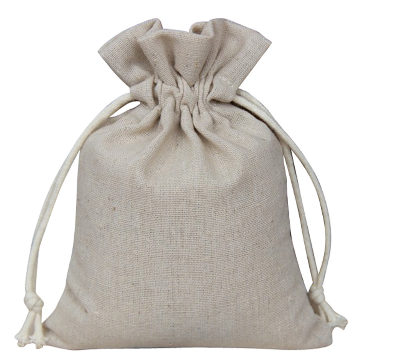 custom color burlap bag
