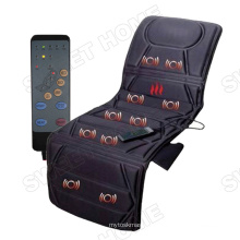 Hot-selling Electric Full Body Shiatsu Vibrating and Heating Massage Product  with 10 Motors