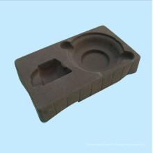 Серый флокирующий блистер (HL-067)