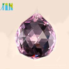 40mm hochwertige facettierte Kristallkugeln für Licht