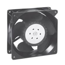 Boîtier en aluminium 140mmx140mmx51mm, ventilateur axial en plastique DC14051