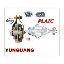 Línea de transmisión eléctrica hardware Líneas aéreas de la abrazadera de la suspensión de la aleación que caben la colocación del polo de poder