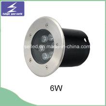 Hochwertige runde 6W unterirdische LED begrabenes Licht
