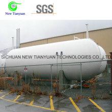 20-футовый криогенный контейнер для жидкого цистерны с геометрическим объемом 16,95 м3