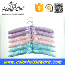 colorful satin hanger for clothes
