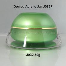 50ml Domed Shape Acrylic Sunblock Jar