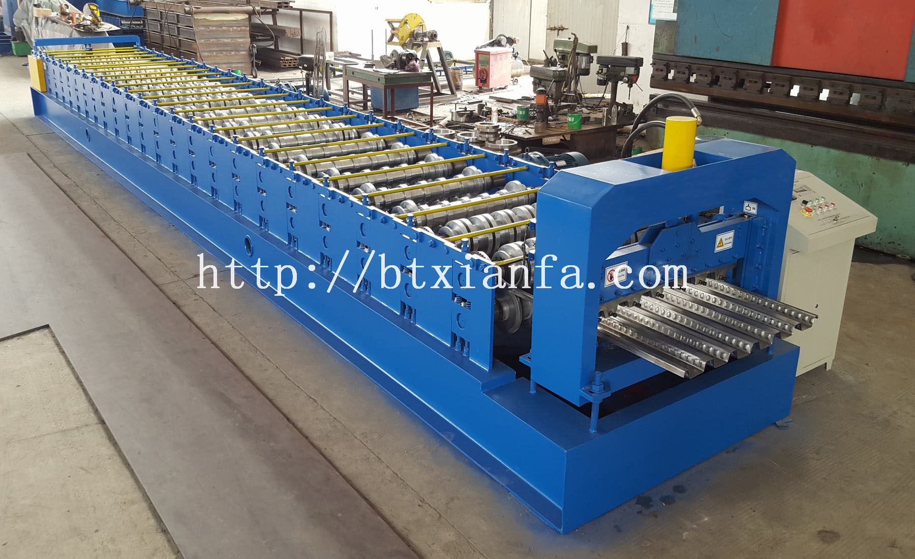 tile floor making machine