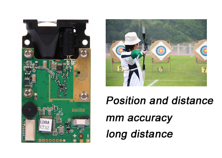 Archery Long Distance Sensor Application scene