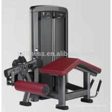 Equipamento de ginásio de fitness esportes pino carregado Prone perna onda máquina