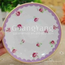 Platos ovalados de gran calidad de New Bone China para cena