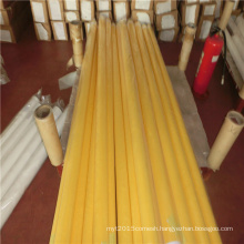White yellow monofilament Polyester Screen Printing Mesh 36T-100W