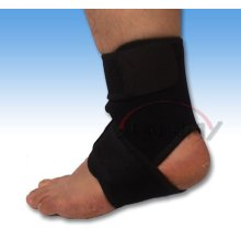 Soft and Elastic Neoprene Ankle Guard with Hook & Loop (NS0008)