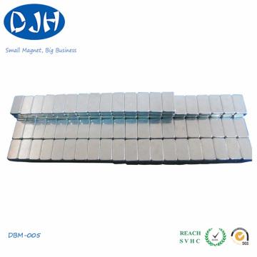 Neodymiym Magnet Block Shaped Zinc Coating