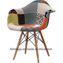 Chaises de loisirs modernes de salon de barre / café de tissu pour la vente (FOH-BCC12)