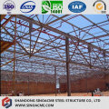 Estrutura de treliça de aço para oficina pré-fabricada