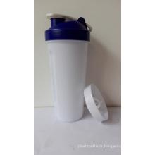 Bouteilles de shaker pour boissons protéinées