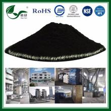 Bois de charbon actif granulaire à haute teneur en bleu de méthylène