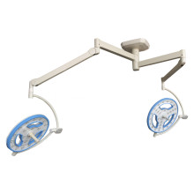 Lampe chirurgicale led double tête creuse