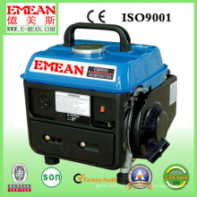 Générateur d'essence refroidi par air monophasé 500W refroidi par air