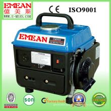 Gerador a gasolina refrigerado a ar à prova de som da fase 500W monofásica
