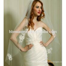 2017 wholesale single layer bridal lace bridal veil