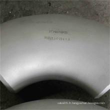 Coude sanitaire d'acier inoxydable pour des garnitures communes