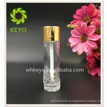 gloss labial recipiente líquido corretivo vazio tubo de vidro em relevo garrafa de vidro