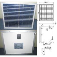 9V 12V 18V 15W polykristallines Sonnenkollektor PV-Modul mit TÜV-Qualitätssicherung