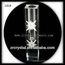 Vaso de cristal agradável L018
