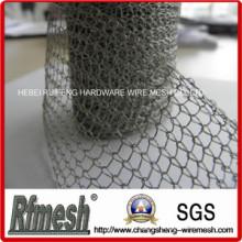 Tela y productos de Kintted Malla de alambre tejida