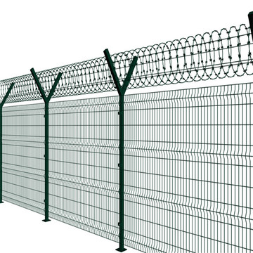 rendahkan pagar panel mesh wire