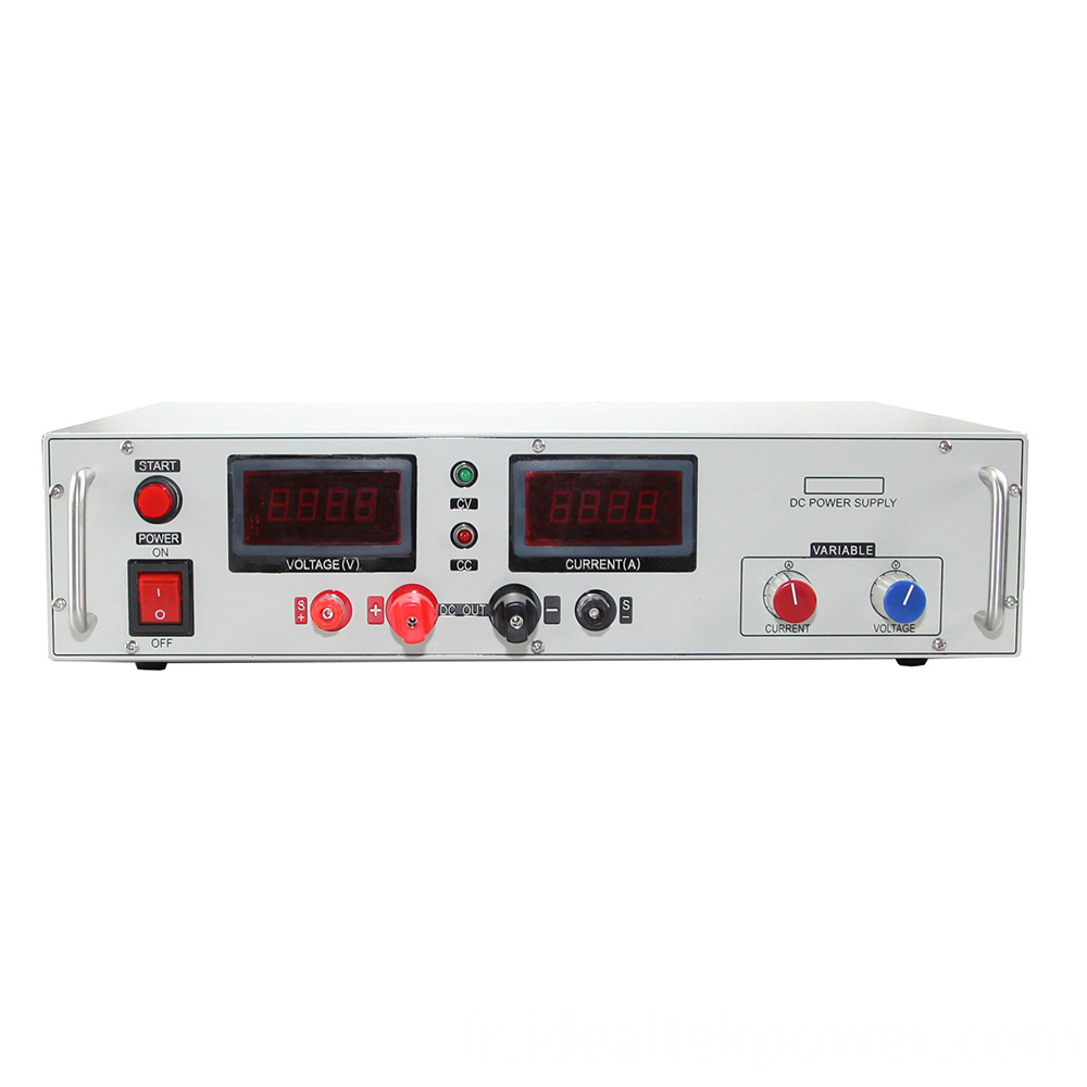 Smp4000 Benchtop Dc Power Supply Front View