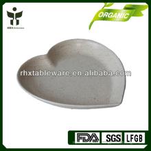 Placa de caramelo de fibra de bambú biodegradable