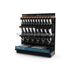 Qualifiziertes Pegboard Panel Freistehendes Metall Automotive Zubehörteile Auto Auspuff Display Stand