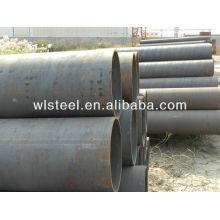 ASTMA106 Gr.B / Q235 / Q345 esquema 40 tubería de acero al carbono para alimentación de fluidos