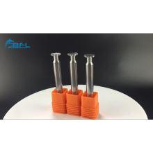 Herramientas modificadas para requisitos particulares del molino de extremo / pedazo sólido del router del corte del carburo para el torno