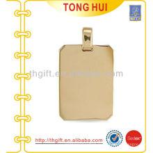Золотая пустая собака ожерелье завод имитации ювелирных изделий