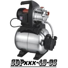 (SDP800-4S-CS) Jardim de escorvamento automático bomba de impulsionador do jato com tanque de aço