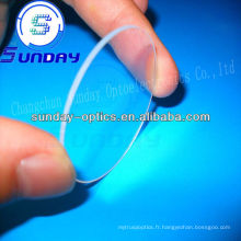 Fenêtre en verre de silice fondue (JGS1)