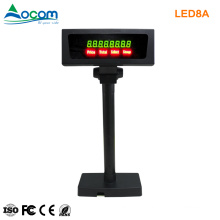 Numeric Display Pole Stand Adjustable Point Of Sale Display