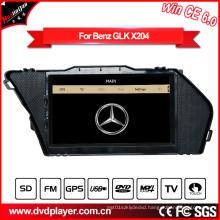 Windows Ce Car DVD Player for Benz Glk X204 Radio GPS Nagivation DVD Player Hualingan