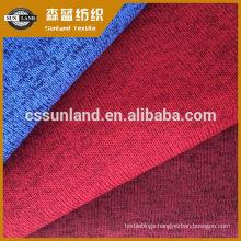 melange look ,yarn dye 100% polyester brushed fleece fabric